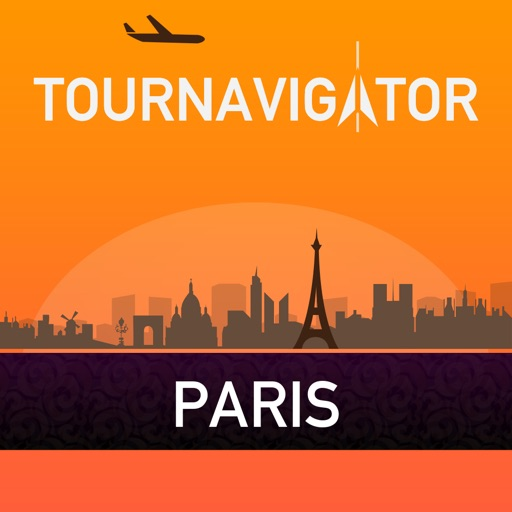 Paris – advanced tourist guide & offline map – Tournavigator
