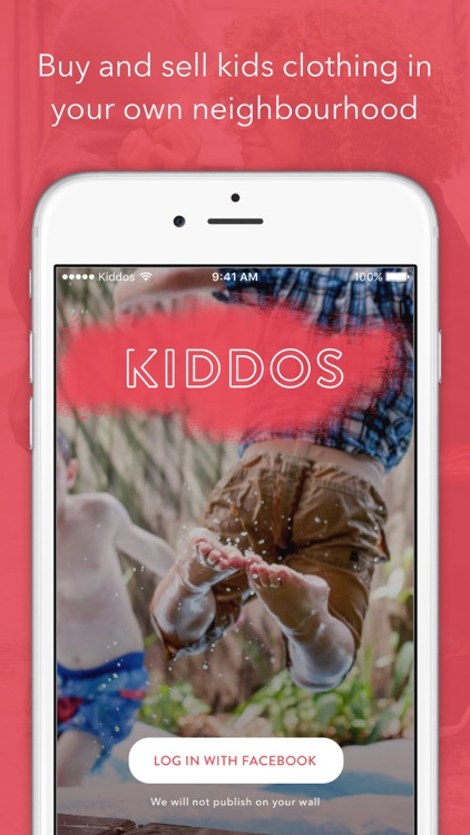Kiddos - Sell and buy items for your kids