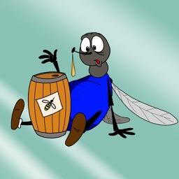 Любопытная муха - сказка на ночь для детей и малышей. Из серии спокойной ночи. Автор детских сказок Михаил Павлович Булатов.
