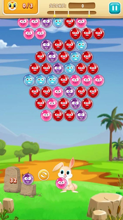 Bubble Shooter Bunny Adventure : Free Bubble Shooter Puzzle Game screenshot-4