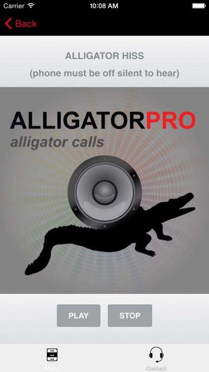 REAL Alligator Calls and Alligator Sounds for Hunting Alligators screenshot-3