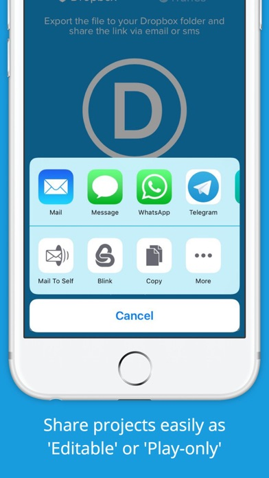 Demonstrate — Mobile Prototyping Screenshot