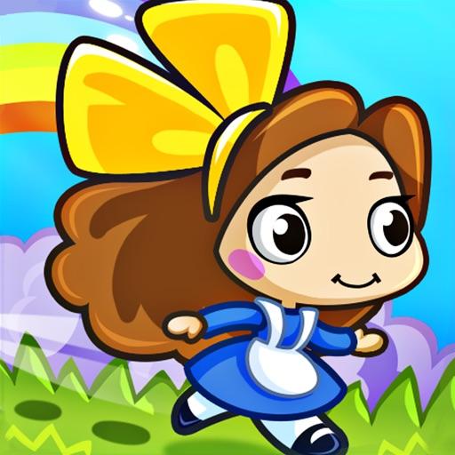 夢幻跑酷世界 - 愛麗絲快跑#可愛精靈仙女酷跑