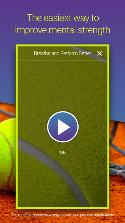 Welzen Tennis - Guided meditation app for pros screenshot-2