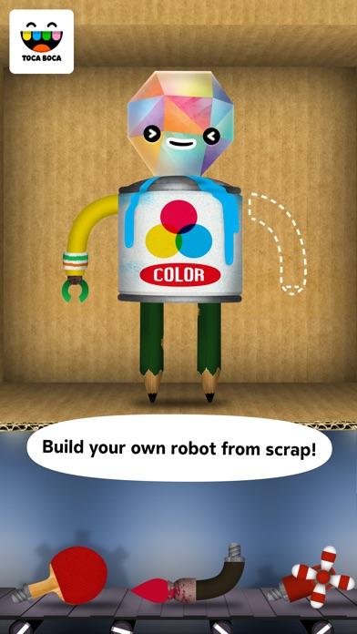 Toca Robot Lab review screenshots