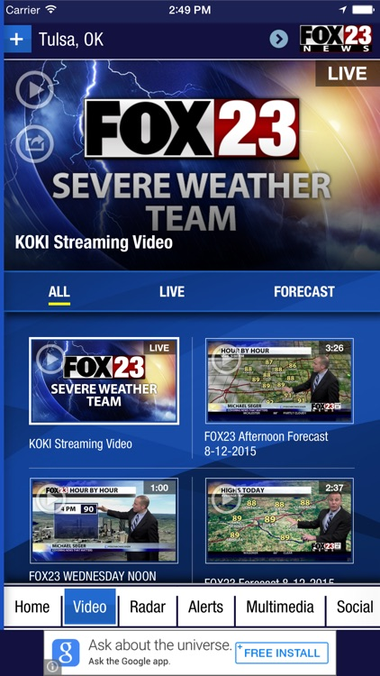 FOX23 Weather screenshot-3
