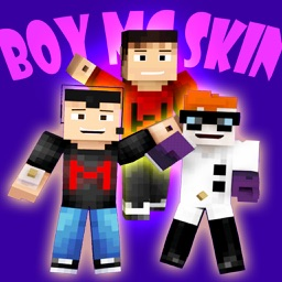 Boy Skin.s Creator for PE Pro - Pixel Texture Simulator & Exporter for Mine.craft Pocket Edition Lite