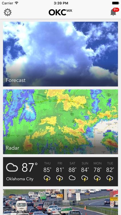 OKCwx Oklahoma City Weather Forecast Traffic Radar by Mediasota, LLC