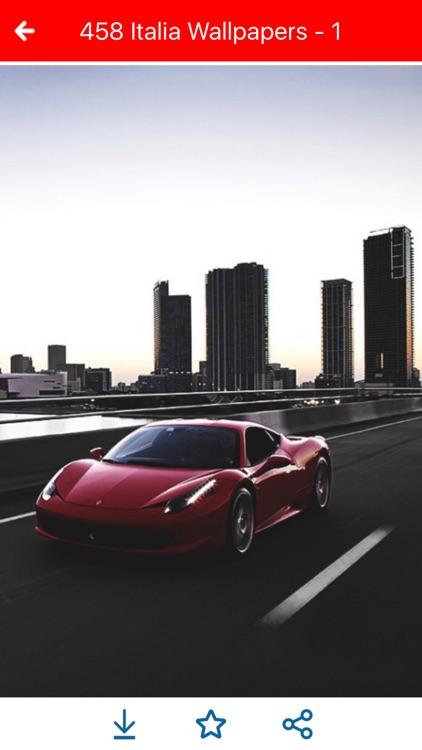 HD Car Wallpapers - Ferrari 458 Italia Edition screenshot-4