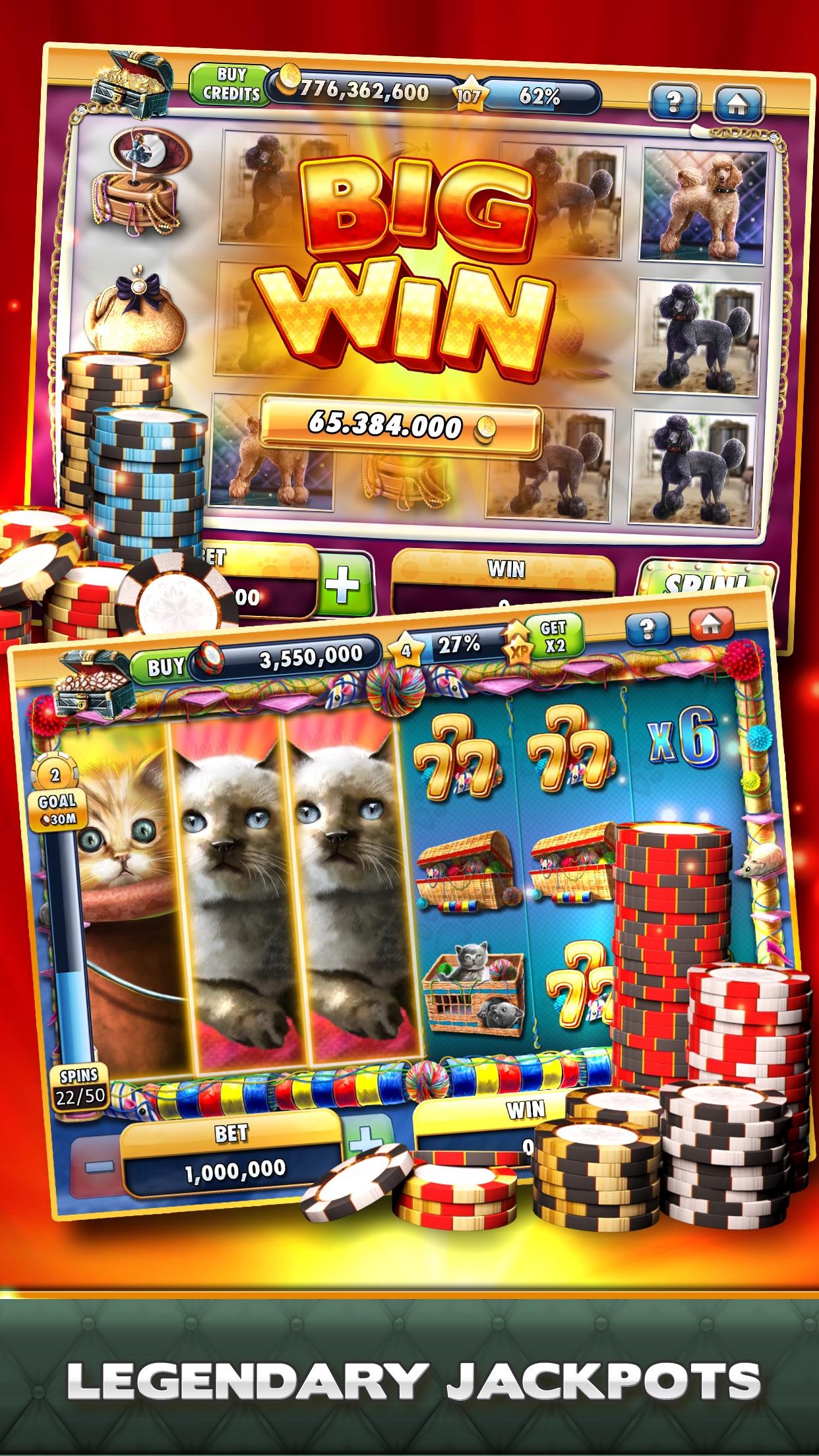 Slot Machines - Free Slot Games and Vegas Casino Screenshot