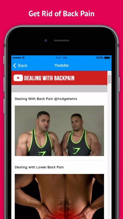 Dealing With Backpain screenshot-3