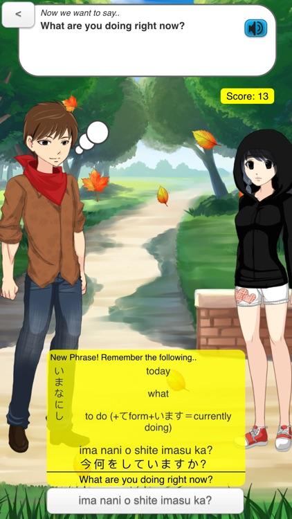 StudyChat Japanese - Learn Speaking Listening Game