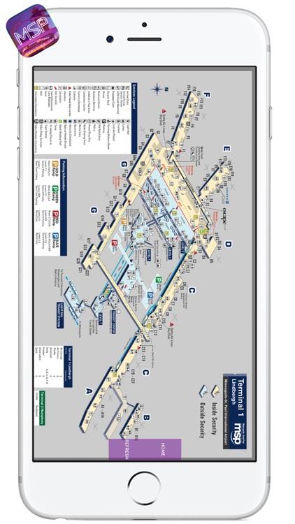 MSP AIRPORT - Realtime Flight Info - MINNEAPOLIS-SAINT PAUL INTERNATIONAL AIRPORT screenshot-3
