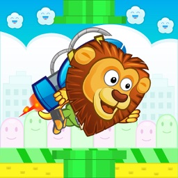 Lion Jetpack On The Run Free