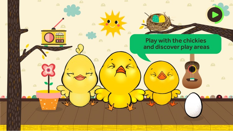 Little Chickies (Los Pollitos) by Canticos - Sing, Play & Learn with Latino Nursery Rhymes screenshot-0