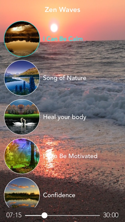 Zen Waves Pro - Ambient Music to Reduce Stress, Guided Meditation and Relaxation