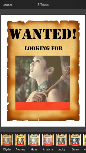 Wanted Photo Frame on the App Store
