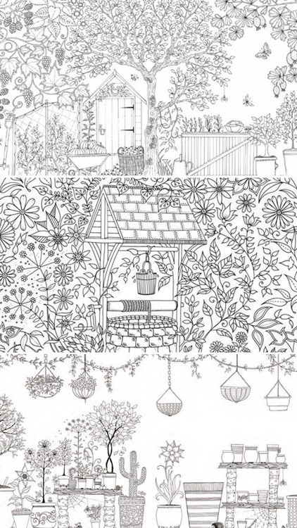 Secret Garden Patterns & Designs