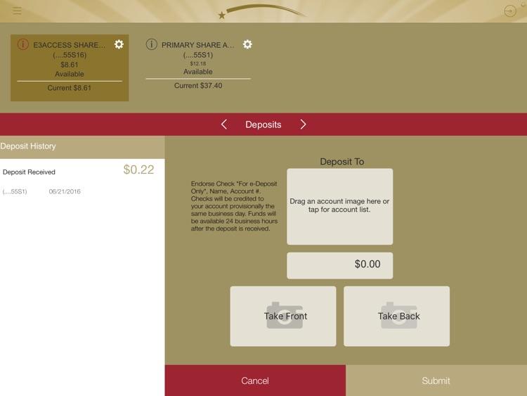 MC Mobile Banking for iPad screenshot-3