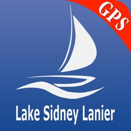 Lake Sidney Lanier GPS Nautical charts