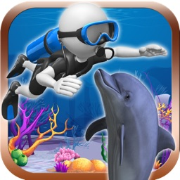 Scuba Hero Pro - Rescues trapped Dolphins