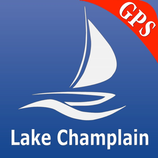 Lake champlain gps nautical charts on the app store for Fishing spots app