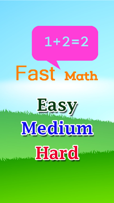 Quick Math - Train your Brain! A Freaking Math Puzzle Fast Game Free For Kid screenshot one