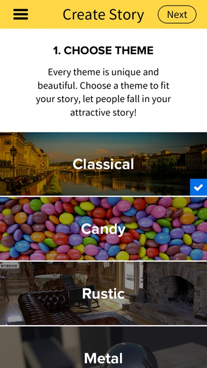 Storyer - Create Your Story with Photos and Text. We are both the story teller.