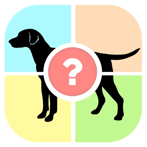 Dog Quiz - Guess the dog photo word famous Dogs, picture