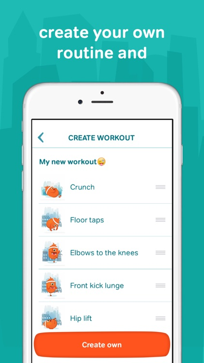 7 minute workouts with lazy monster PRO: daily fitness for kids and women screenshot-3