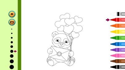 パンダの塗り絵 子供のためのかわいい似顔絵アートのアイデアの画像集