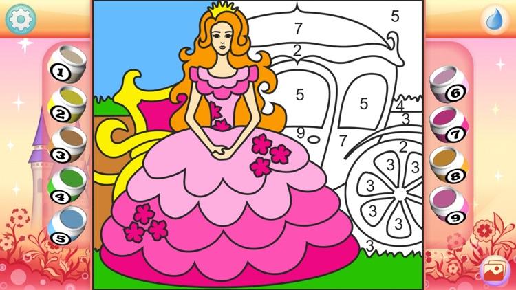Pretty Princess Coloring Book