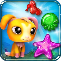 Ocean Rescue Mania. Charm Heroes Help Fish & Pets Quest