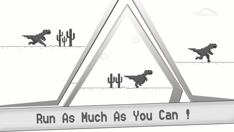 T- Rex Steve Endless Browser Game - Let the offline Dinosaur Run & jump