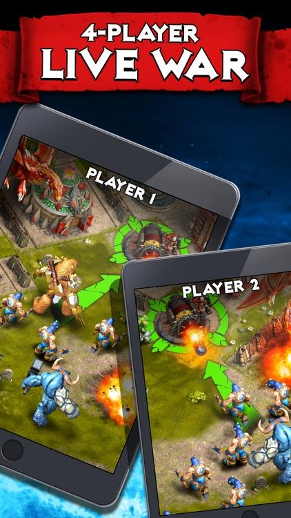 Heroes of War: Orcs vs Knights screenshot-4