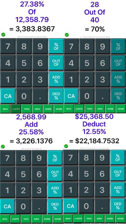 Percentage Calculator 365+ : Percent Calculator