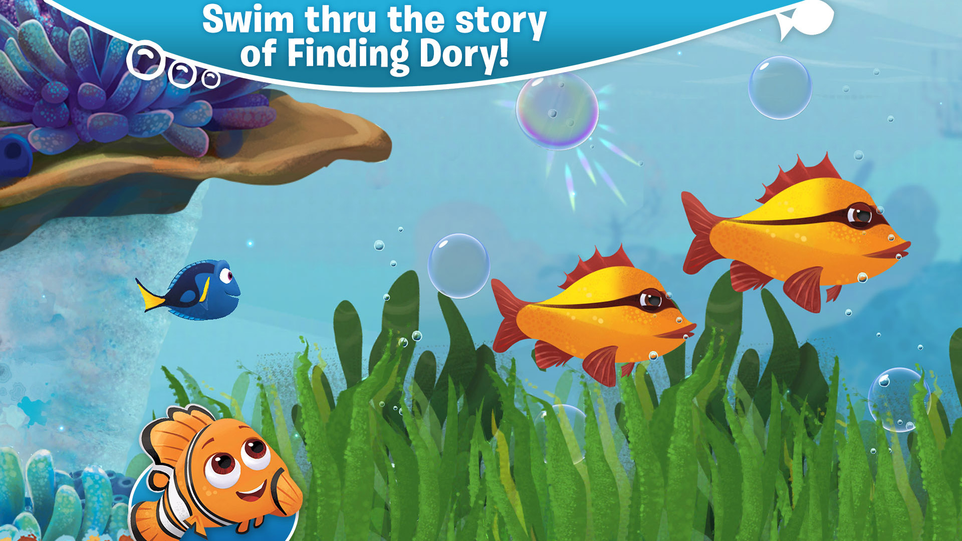 Finding Dory: Just Keep Swimming screenshot 11