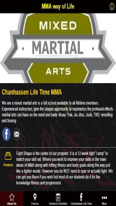 MMA way of Life screenshot one