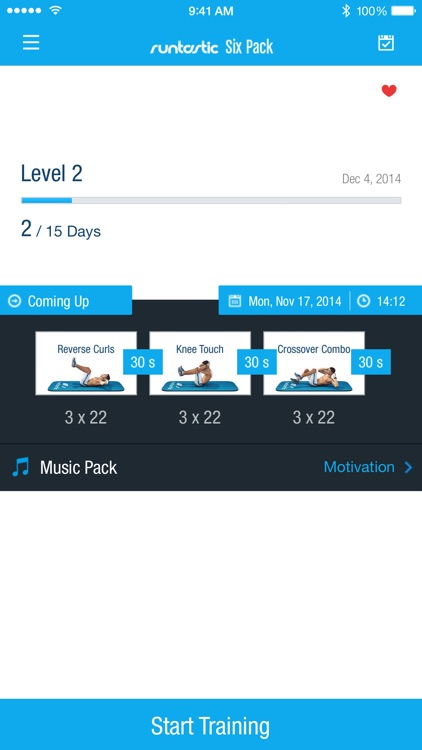 Runtastic Six Pack Abs Workout screenshot-0