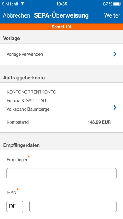 Online-Filiale+ screenshot-3