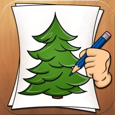Activities of Learning to Draw Forest Trees