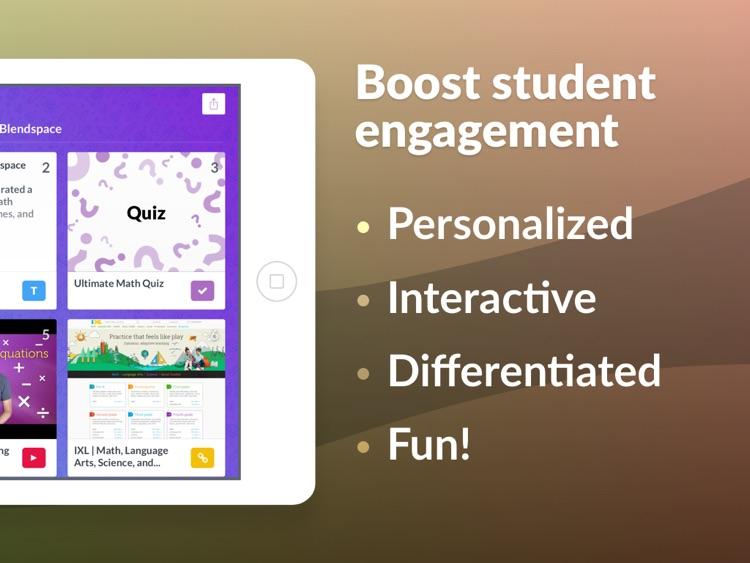 TES Teach with Blendspace screenshot-3