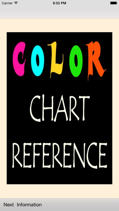 Color Chart Reference App Price Drops