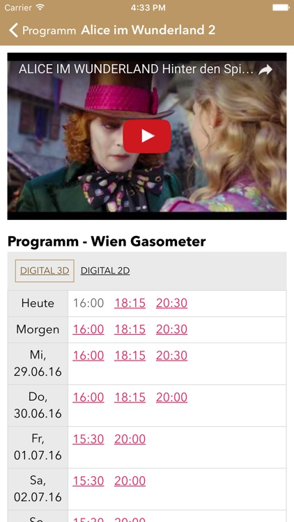 Hollywood Megaplex By Kima Cinemas Vienna Gmbh Co Nachfolge Kg