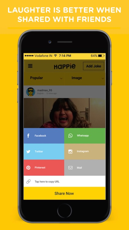 Happie - Jokes, Funny Jokes App screenshot-3