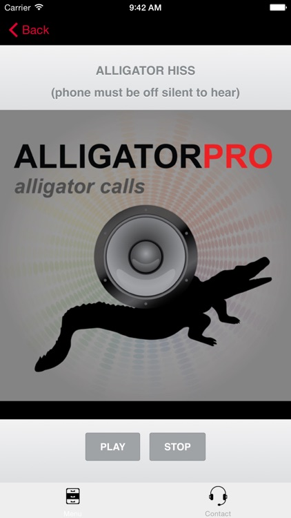 REAL Alligator Calls and Alligator Sounds for Calling Alligators (ad free) BLUETOOTH COMPATIBLE screenshot-3