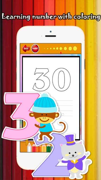 123 Coloring Book for children age 1-10: Games free for Learn to write the Spanish numbers and words while coloring with each coloring pages screenshot-3