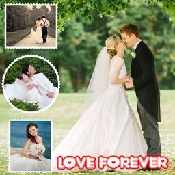 Sweet Love Photo Collage