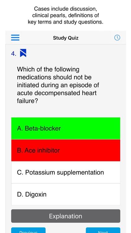 Case Files Cardiology 1/e screenshot-3