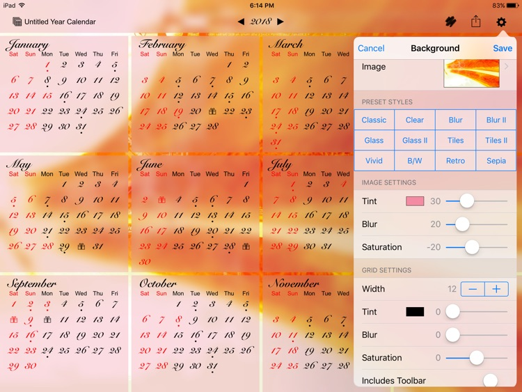 All-in-One Year Calendar screenshot-4